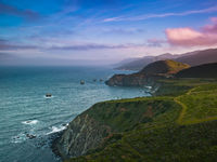 Serenity Path,California,Horizontal,Pacific,coastal,landscape,ocean,pacific ocean