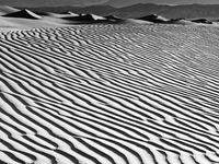 Death Valley, Black and White, California, Death Valley National Park, Desert, Dune, Dunes, horizontal, BW, B&W, Black, White