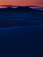 Blue Sand Sunset,California,Desert,Dunes,Orange,landscape,vertical