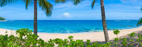 Paradise Island,Kauai Island, Hawaii,Paradise,panoramic, blue, green, landscape, horizontal