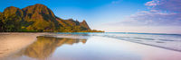 Waiting for Footprints,Kauai Island, Hawaii,Panoramic, water,horizontal, Reflection,Swim