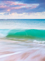 The Morning Wave,Haena Beach Park,Kauai,Ocean,Sunrise,Hawaii,Swim