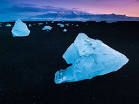 Icelandic Cubes,Iceland,Summer,Light,Midnight,Dream,Ice,Glaciers