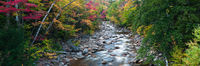 Sawyer River,Autumn,Crawford Notch,Landscape,New England,New Hampshire,Panoramic,White Mountains,horizontal