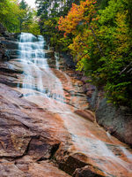 Ripley Falls,Autumn,Crawford Notch,Landscape,New England,New Hampshire,Ripley Falls,Vertical,Waterfall,White Mountains