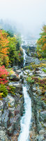 Silver Cascade-2,Autumn,Crawford Notch,Flume,Landscape,New England,New Hampshire,Waterfall,White Mountains