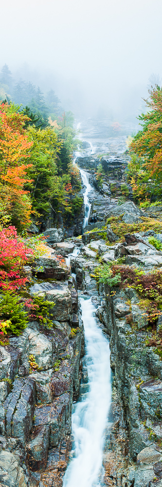Silver Cascade-2,Autumn,Crawford Notch,Flume,Landscape,New England,New Hampshire,Waterfall,White Mountains, photo