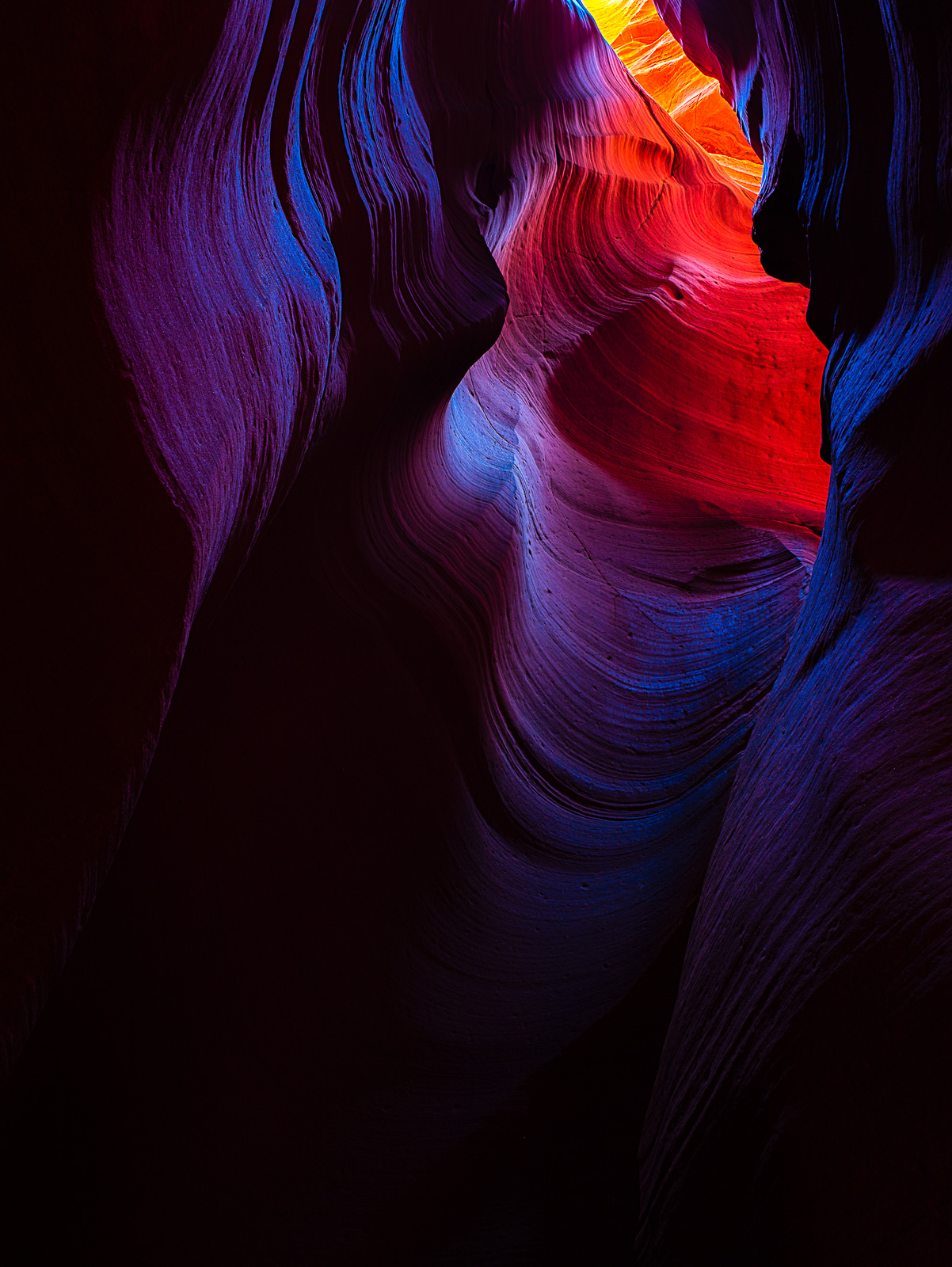 Alice's Wonderland,Arizona,Desert,HDR,Slot Canyon,Upper Antelope Valley,Vertical, photo