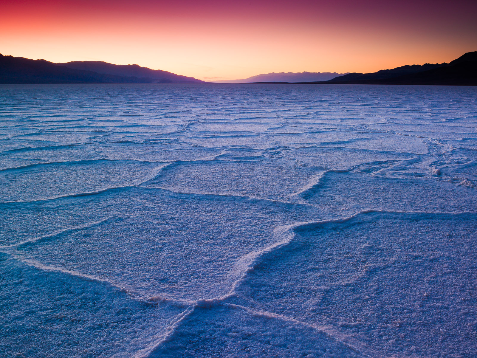Death Valley Checkers,Death Valley National Park, California,Water,Moon, photo