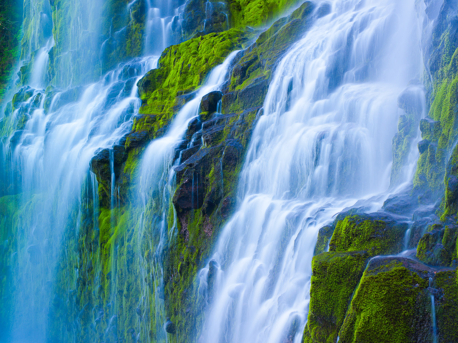There is something to be said about the roar of a massive waterfall by your side.  Like a hypnotic peacefulness.